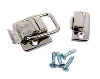 2pc. Nickel-plated Box Draw Catches (Latches)