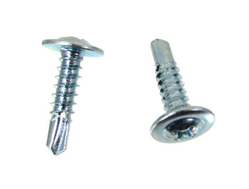"25pc. #10 x 3/4"" Self-drilling Washer-head Screws"
