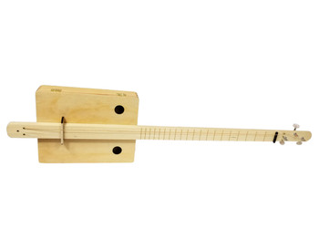 "Complete ""Pure & Simple"" Cigar Box Guitar Kit - Choose Fretting and Pickup Options!"