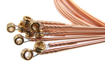 """56-gauge (.056"""") Phosphor Bronze Wound Guitar Strings (12-pack)"""