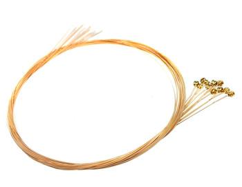 """20-gauge (.020"""") Phosphor Bronze Wound Guitar Strings (12-pack)"""