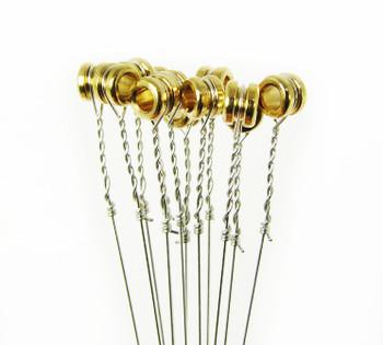 """09.5-gauge (.0095"""") Steel Strings for Guitar (12-pack)"""