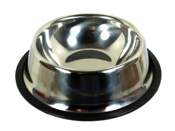 18cm. (7-inch) Stainless Steel Dog Dish - Cigar Box Guitar Resonator Cone