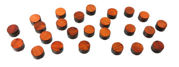 Padauk (25pc. set shown)