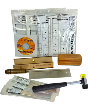 Essential Cigar Box Guitar Fretting Starter Kit: Tools, Templates, Frets & Guide ($40 savings!)