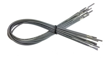 10pc. 20-inch Shielded Hookup Wires
