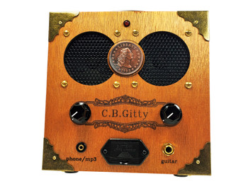 """The """"Copper Cent"""" Cigar Box Amplifier - Classic Look, Awesome Sound"""