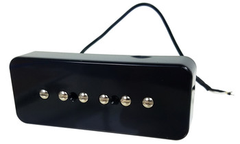 "The C. B. Gitty ""Soap Bar"" P90-Style Electric Guitar Pickup - Black"