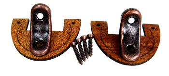 "2pc. 1/8"" Hardwood Neck Collars with Metal Braces for CBGs"