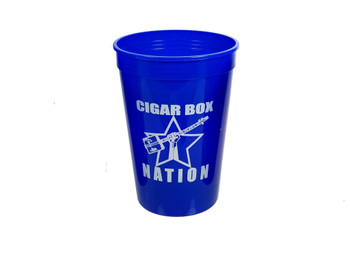 1pc. Blue 16oz. Gitty/Nation Plastic Stadium Cup