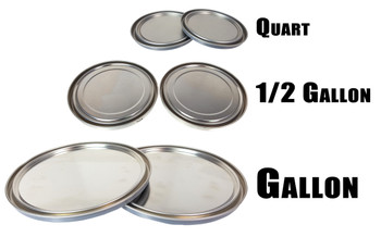 Paint Can Lid Resonators for Cigar Box Guitars - Choose from 3 Sizes