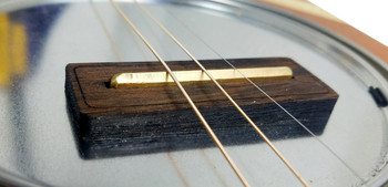 """Rail Runner"" Hardwood Bridges for Cigar Box Guitars - Laser-cut out of beautiful hardwood!"