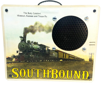 """Southbound Katy"" Guitar Amplifier & Power Speaker for Phones"