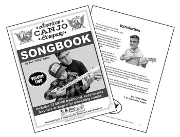 American Canjo Songbook - Volume 2 - 53 MORE Easy-to-play Songs (Printed Version)