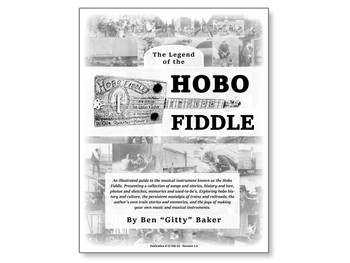 """The Legend of the Hobo Fiddle"" Book by Ben ""Gitty"" Baker"