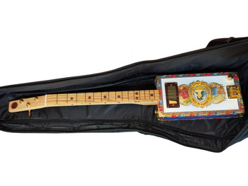 Padded Black Gig Bag for Cigar Box Guitars