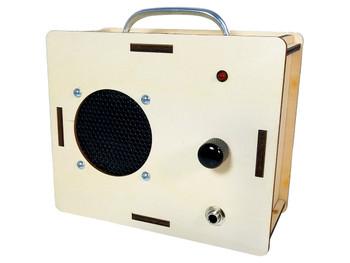 DIY 2.5 Watt Amplifier Kit - Laser-cut enclosure offers endless customization possibilities