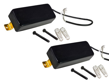 "Black Mamba ""Snake Oil"" Mini Humbucking Pickups by Foundry-Tone"