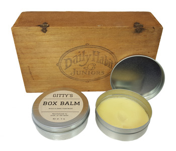 """Gitty's """"Box Balm"""" Wood and Hand Treatment - Hand-crafted by Mrs. Gitty!"""