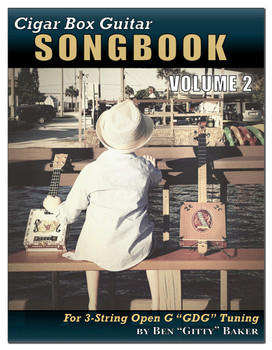 Cigar Box Guitar 3-string Songbook Volume 2 - Front Cover