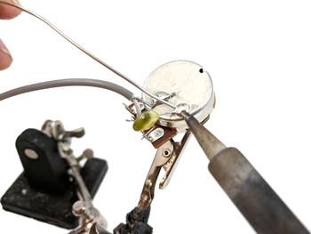 """WickedBucker"" Surface-Mount Humbucker DIY Pickup Harness Wiring Kit - choose your color!"