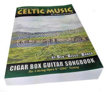 Celtic (Irish) Traditional Music Compendium - Massive Single Volume Edition - 177 Songs Tablature for 3-string GDG
