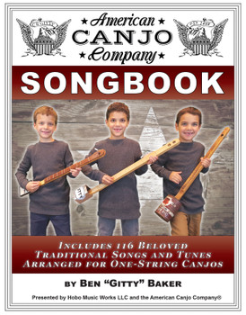 Canjo Songbook Bundle - 3 books of Folk, Hymns & Spirituals, Americana, Old-Time & More!