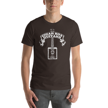 """Cigar Box Guitars"" Classic Design T-Shirt"