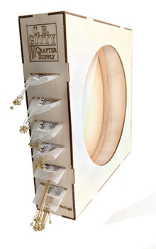 The kit handily holds six sleeves of bulk guitar strings, with an easy access side panel for replacing empty sleeves.