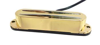 "Gold ""Dual-Blade"" Humbucker Pickup"