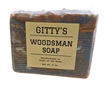 "Gitty ""Woodsman"" Soap - Hand-crafted by Mrs. Gitty!"
