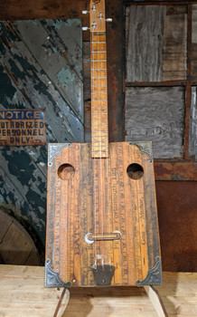 The Yankee Yardstick - a unique heirloom instrument hand-crafted by Ben Gitty