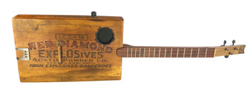 The Quarryman Guitar - a unique heirloom instrument hand-crafted by Ben Gitty