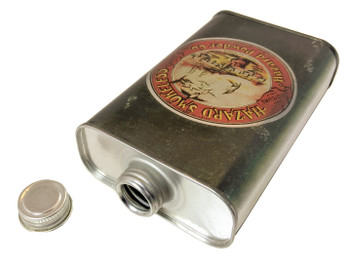 Hazard Smokeless Gunpowder Can (EMPTY) - Choose Size - Great for Canjos, Resonators & More!