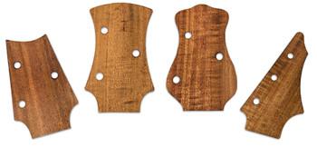 C. B. Gitty Original Veneer Headstock Templates - Choose Your Favorite Style!