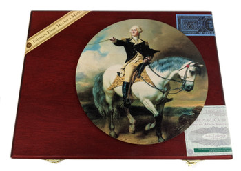 """Founding Father"" ResoDisk Box Topper for Cigar Box Guitars"