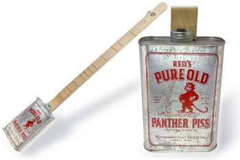 "Spirits Canjo Series: ""Old Panther Piss"" One-string Tin Can Banjo"