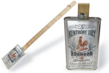 "Spirits Canjo Series: ""Kentucky Lily Bourbon"" One-string Tin Can Banjo"