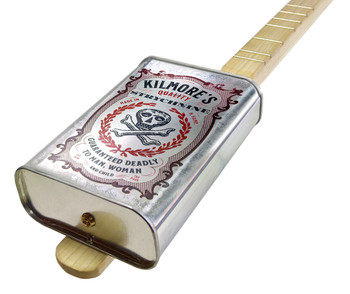 "Spirits Canjo Series: ""Kilmore's Strychnine"" One-string Tin Can Banjo"