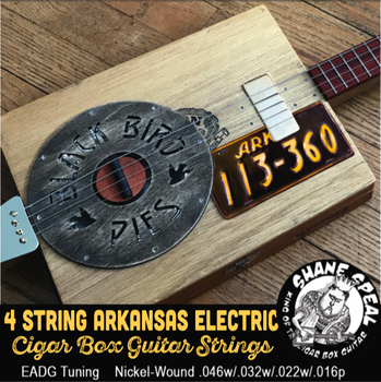 "Shane Speal Signature ""Arkansas Tuning"" Electric Strings - EADG"