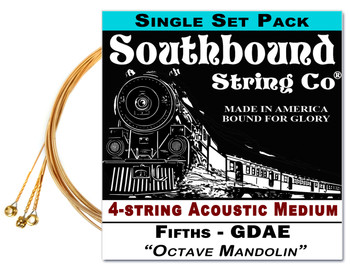 """Octave Mandolin"" GDAE String Set for 23-25"" Scale 4-string  Instruments"