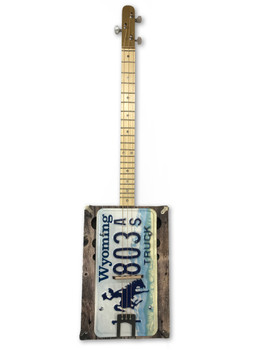 "The ""Rodeo King"" 3-string License Plate Resonator Guitar Kit"