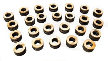 Laser-Cut Knob Inserts - Make Your Own Custom Guitar Knobs!