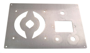 Aluminum Amplifier Face Plate - Easily Install Your Amp Parts and Mount!