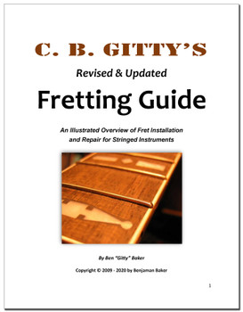 Fretting Guide - 158 pages Revised and Expanded - Digital Download