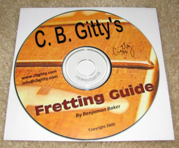Fretting Guide - 158 pages Revised and Expanded - Shipped CD with PDF