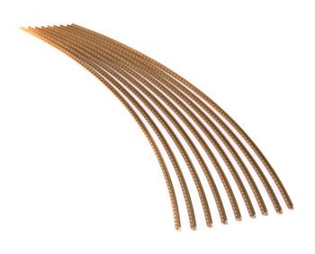 Jescar Jumbo GOLD EVO Fret Wire (6 ft)