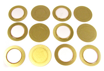 12-pack 20mm Piezo Disks