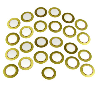 25-pack 20mm Piezo Disks
