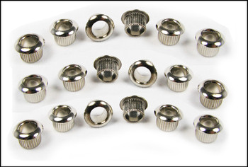 24pc. Nickel Press-Fit Tuner Bushings